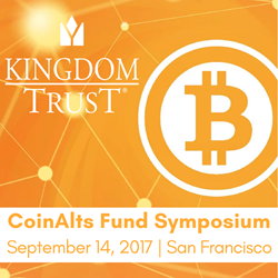 Kingdom Trust at CoinAlts Fund Symposium
