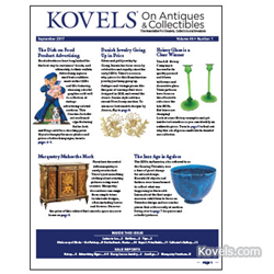 kovels, antiques, collectibles, heisey, marquetry, advertising, jazz age