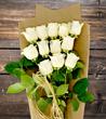 White Artisan Roses