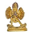 Thirty-four arm Buddhist guardian.