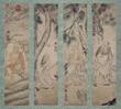 Four Panels of Buddha by Dai Jin