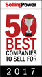 Selling Power 50 Best Companies to Sell For 2017