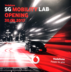 5G Mobility Lab Opening at Vodafone with Expway LTE Broadcast demo