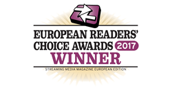 movingimage won one of the top awards for enterprise video -- The Readers' Choice Award from Streaming Media Europe