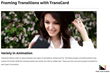 FCPX Effects - TransCard - Pixel Film Transitions