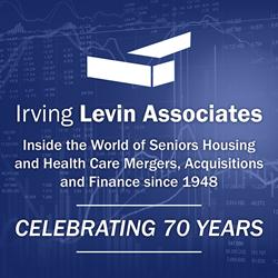 Irving Levin Associates square logo