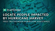 TruthFinder Provides Complimentary People Finder Reports to Aid Those Affected by Hurricane Harvey