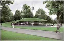 Rendering of the Munich Memorial