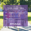 ProRehab Therapist Aaron Goelzhauser Organizes Total Joint Trek for Individuals Who Have Undergone Joint Replacement
