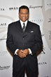 Reggie Theus walks the red carpet at The 2016 Erving Black Tie Ball and Pairings Party in Philadelphia
