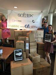 Soft-Tex Donation at Ronald McDonald House Charleston