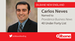 Carlos Neves of Gilbane, PBN 40 Under 40