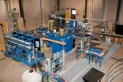 Desalination research being conducted at the Brackish Groundwater National Desalination Research Facility in New Mexico