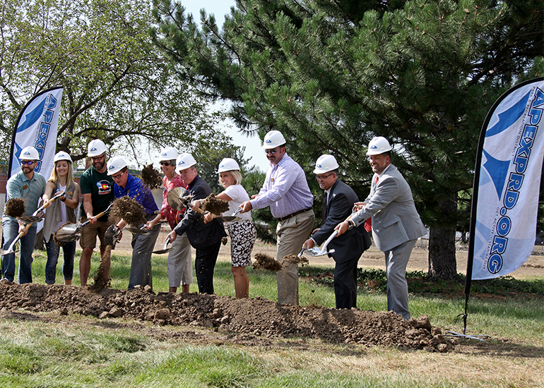 Adolfson Peterson Construction Breaks Ground On Apex S Fitzmorris Park Center Pool And