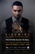 Official Invitation Card for The Erving Black Tie Ball, Red Carpet & Pairings Party at The Logan Hotel with Ginuwine
