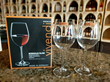 Pair of wine glasses given to founding wine club members