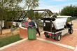 Speed trash removal with the Carryall 700 Refuse Removal Vehicle.