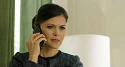 Nia Peeples, as Claudia in Mnemosyne