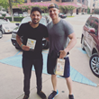 Sean Lowe and Alejandro Velez