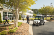 The Carryall 300 Security Vehicle is equipped for long security details.