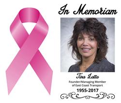 Tina Latta, Founder of East Coast Transport