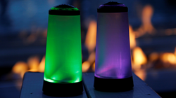 iiShakers are salt and pepper shakers with a convenient, on-demand supplemental lighting system.