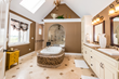 Custom bath with walk-in shower by DJK Custom Homes