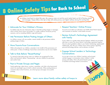 8 Online Safety Tips for Back-to-School