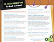 10 Social Media Tips for Back to school