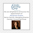 Margarete Dupere Joins Camden Consulting Group, a division of Keystone Partners, as Senior Partner and Managing Director