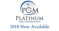 platinum golf membership 2018