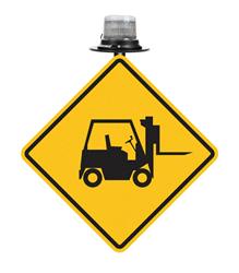 Forklift Traffic Sign