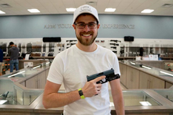 Chris Hines Winner of Custom Glock