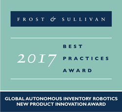 2017 Global Autonomous Inventory Robotics - New Product Innovation Award