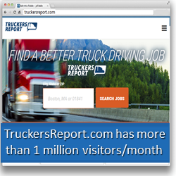 TruckersReport.com is the most popular truckers website online
