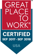 Aeroflow Healthcare Recognized as a Great Place to Work
