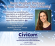 Civicom Appoints New Global Manager for Marketing Research Services