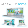 The Trade Group Adds a New Product to their METALLI® Line of Exhibits: The METALLI Rome
