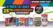 "K'NEX® Celebrates 25 Years with ""K'NEX-A-Day 25th Anniversary Giveaway"""