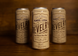 Hap and Harrys Kings of Leon Revelry Amber Ale 16 once cans