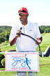"Julius ""Dr. J"" Erving announces The Erving Closing Ceremony and Awards presented by Delta Air Lines on the 18th Green."