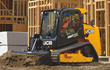 Designed and built in Savannah, Ga., the JCB 260T vertical lift compact track loader features a single-arm boom and side door entry design.