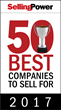 "Endurance Featured on Selling Power's ""50 Best Companies to Sell For"" List in 2017"