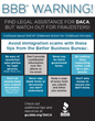 Better Business Bureau Warns About DACA Fraud, Urges Consumer Caution
