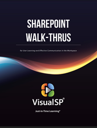 Instantly view the SharePoint Walk-Thrus Whitepaper below.