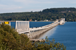 The Hood Canal Bridge