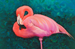 Flamingo Painting | Clint Eagar Design at Santa Rosa Beach, FL