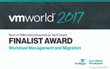 VMWorld  2017 Finalist Award