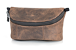 WaterField iPhone Camera Bag—premium chocolate leather