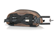 WaterField iPhone Camera Bag—bottom straps hold mini tripod
